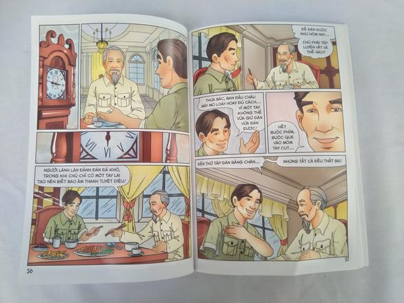 Во Вьетнаме изданы комиксы про Хошимина