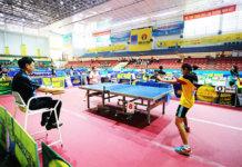 Чемпионат по настольному теннису в Нячанге