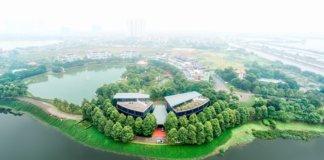 Классный парк для прогулок в Ханое